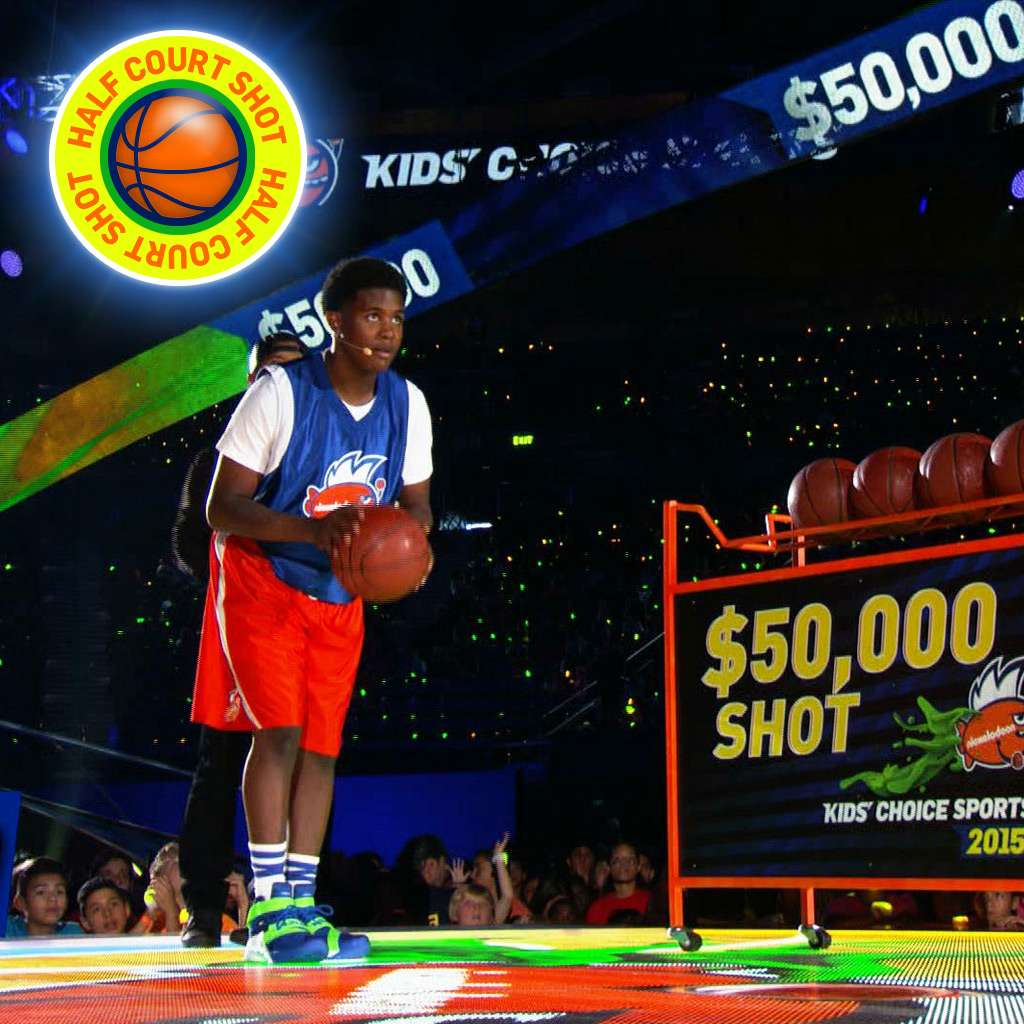 """Kids' Choice Sports 2015: """"The Ultimate Half-Court Shot!"""""""