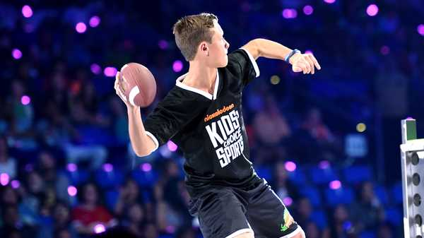 "Kids' Choice Sports 2016: ""The Perfect Pass with Cam Newton"""