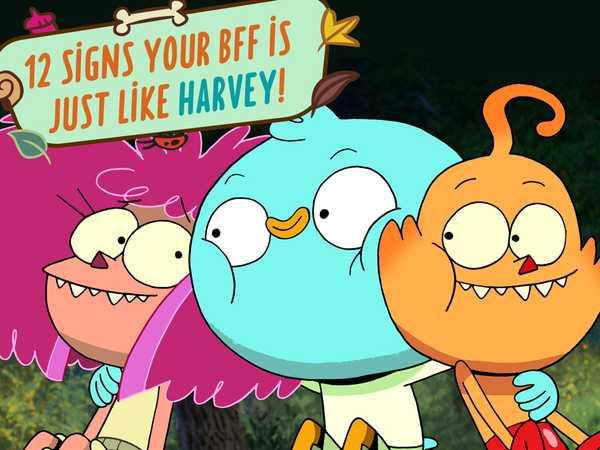 Is Your Best Friend Harvey Beaks?
