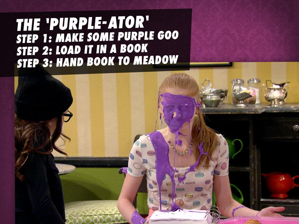 The 'Purple-ator'