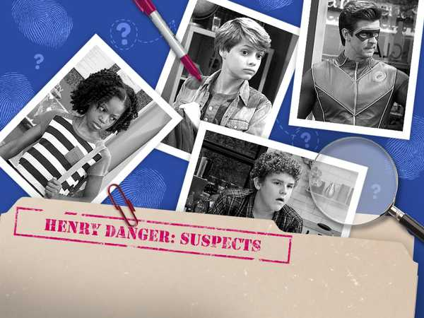 Henry Danger: Suspects