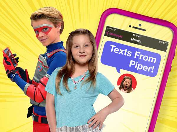 Henry Danger: Texts From Piper!