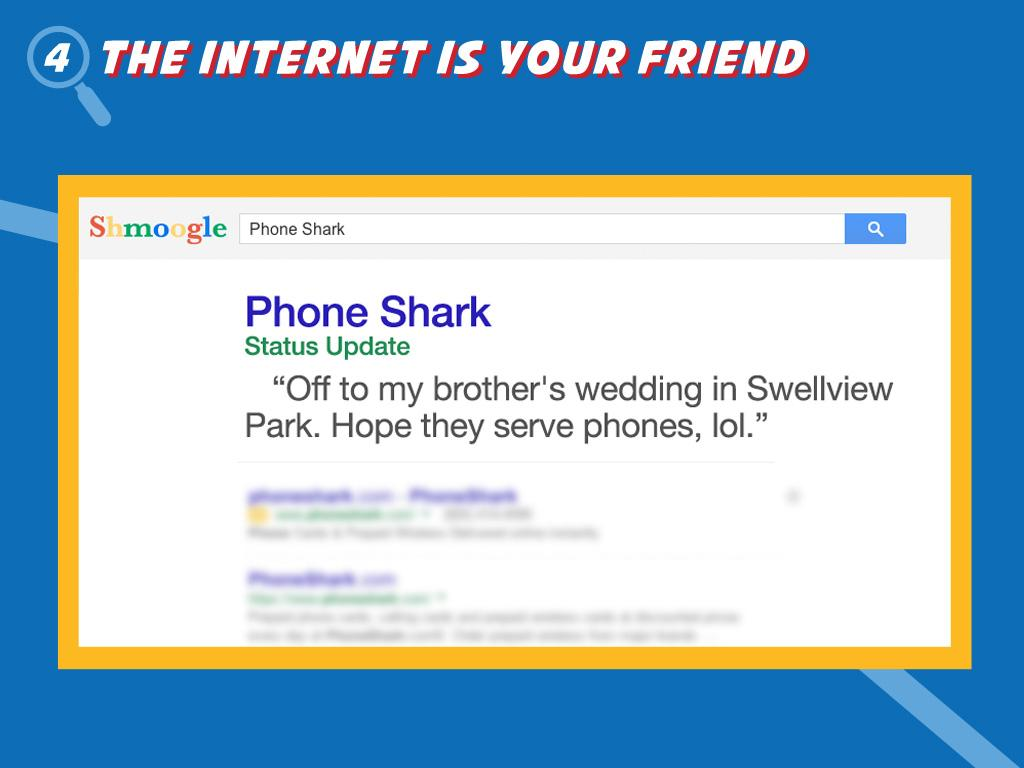 The Internet Is Your Friend