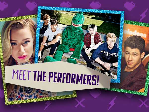 Kids' Choice Awards: Meet the Performers!
