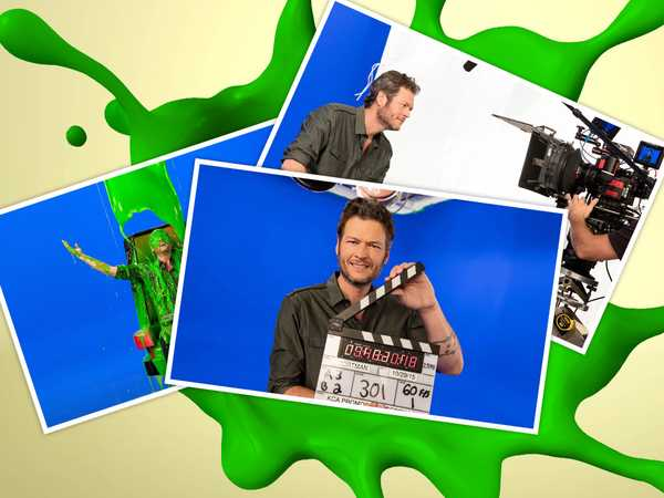 Kids' Choice Awards 2016: Blake Gets Slimed!