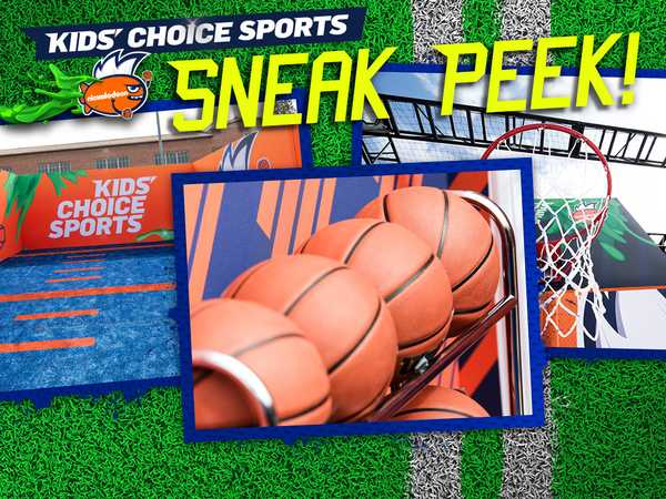 Kids' Choice Sports: Sneak Peek!