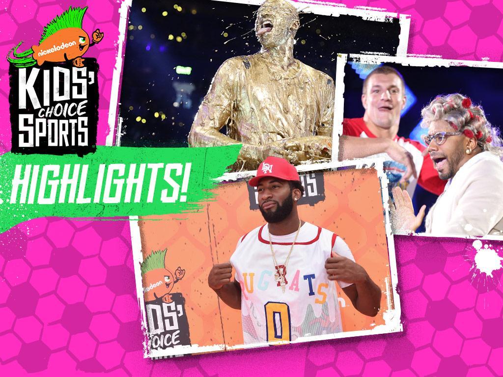 Kids' Choice Sports 2016 Highlights!