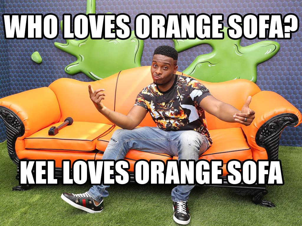 The Big Comfy (Orange) Couch