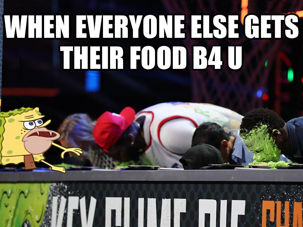 Hungry Hungry Athletes