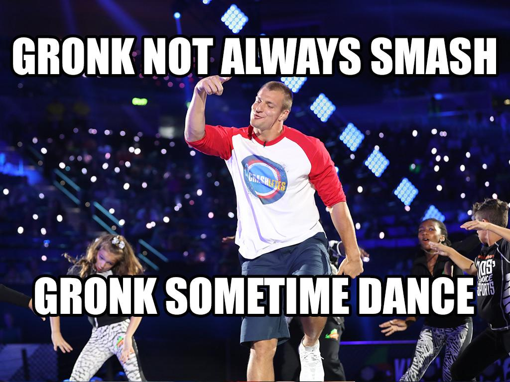 Gronk Gets Down