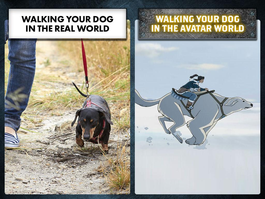 Naga doesn't <i>do</i> leashes...