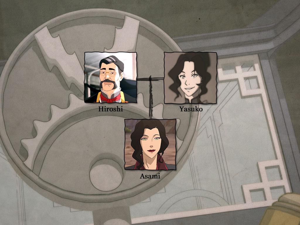 Asami's Family Origin: Fire Nation