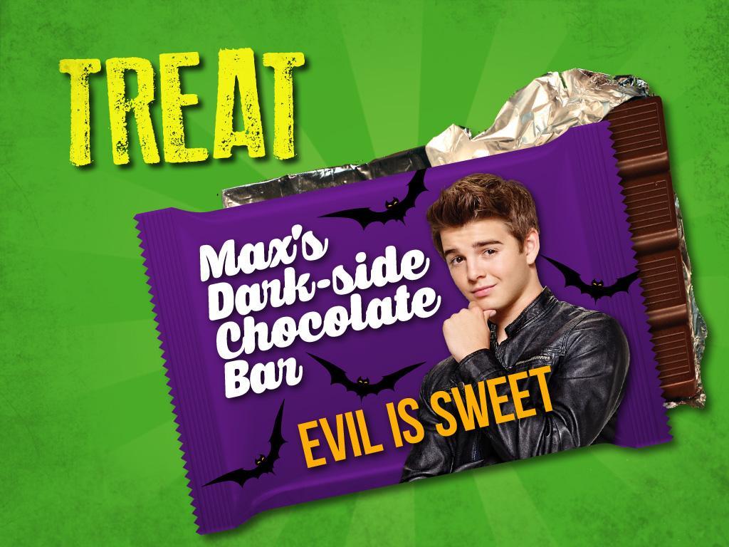 Treat: Max's Dark-side Chocolate Bar