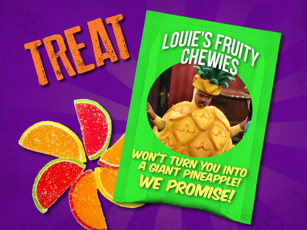 Treat: Louie's Fruity Chewies