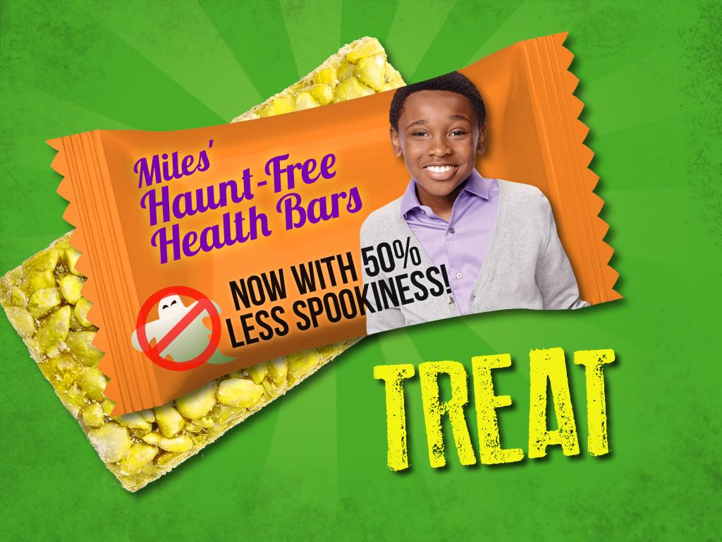Treat: Miles' Haunt-Free Health Bars