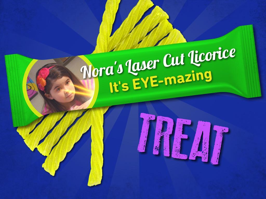 Treat: Nora's Laser Cut Licorice