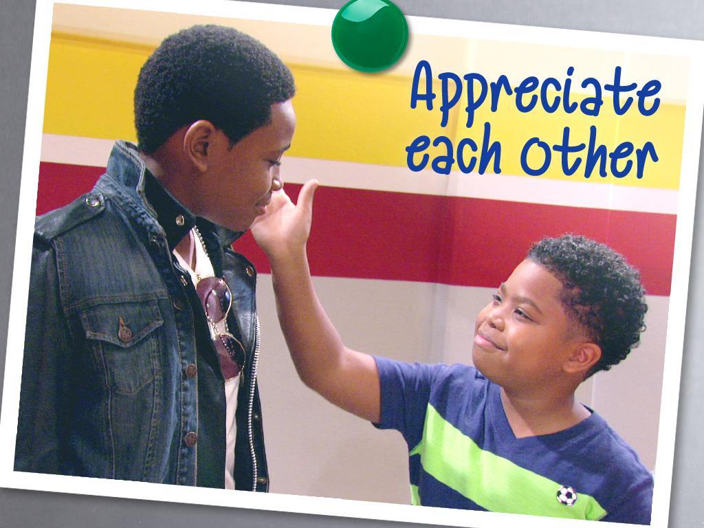 Appreciate Each Other