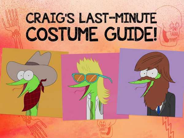 Craig's Last-Minute Costume Guide!