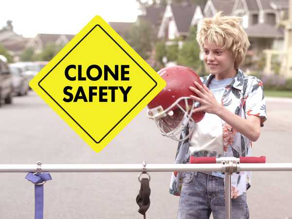 Splitting Adam: Clone Safety