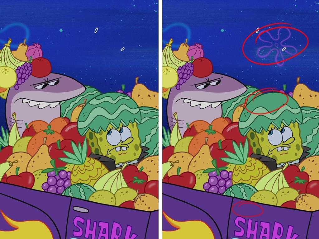 SpongeFruit CartPants