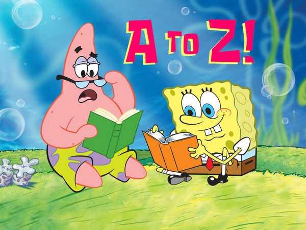 SpongeBob A-Z!