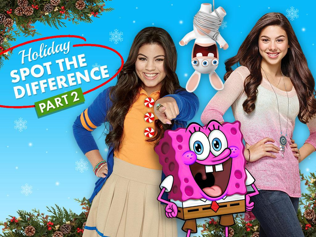Can you spot 3 differences in each of these scenes from your favorite Nick shows?