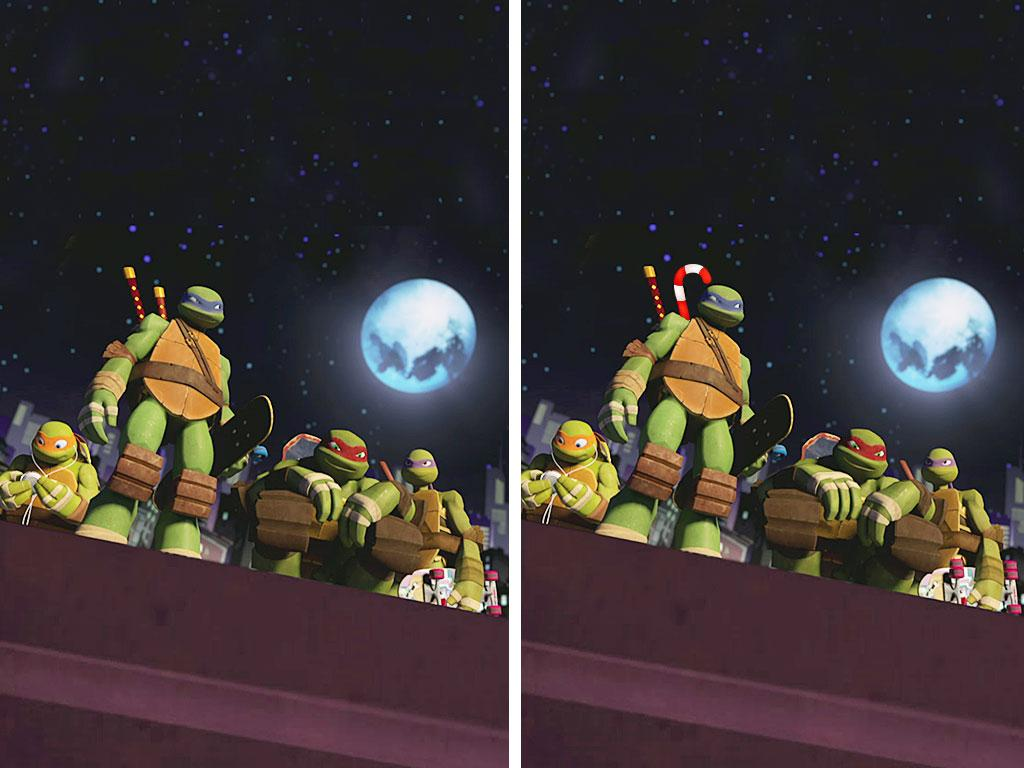 Can you spot all 3 differences?