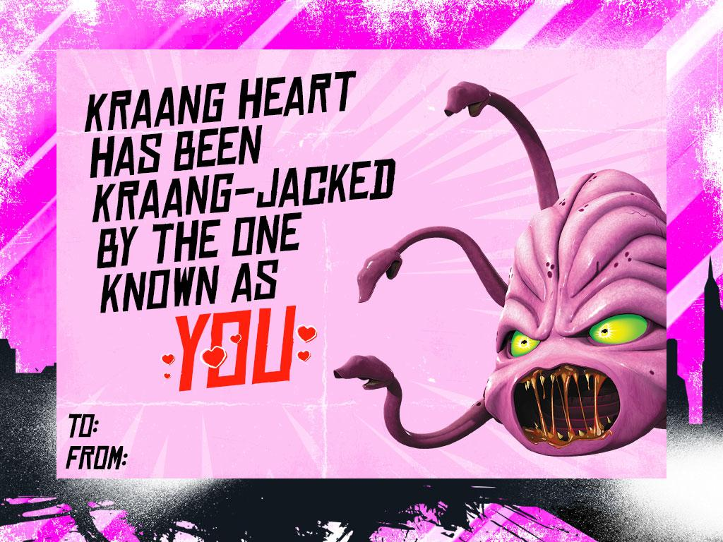 Send A Valentine From The Kraang!
