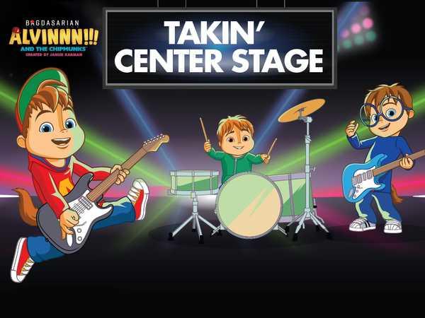 ALVINNN!!! and the Chipmunks: Takin' Center Stage