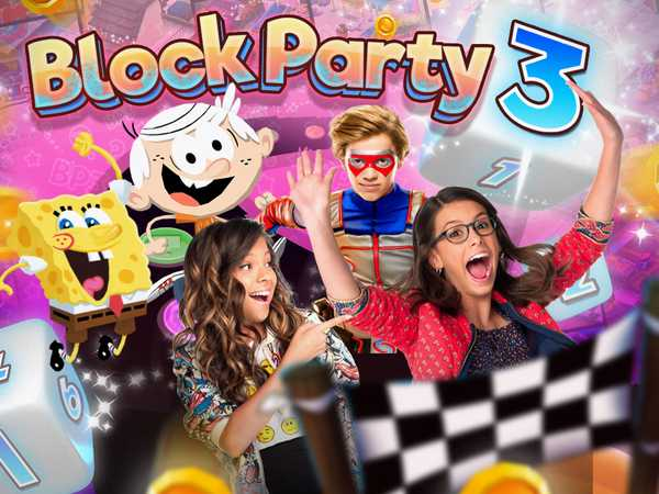 Promo type 1: Nickelodeon: Block Party 3