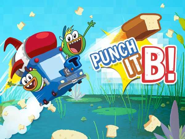 Breadwinners: Punch It, B!