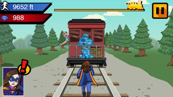 Danger and Thunder Train Rescue Screenshot Picture