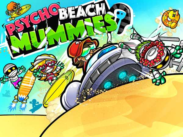 Game Shakers: Psycho Beach Mummies