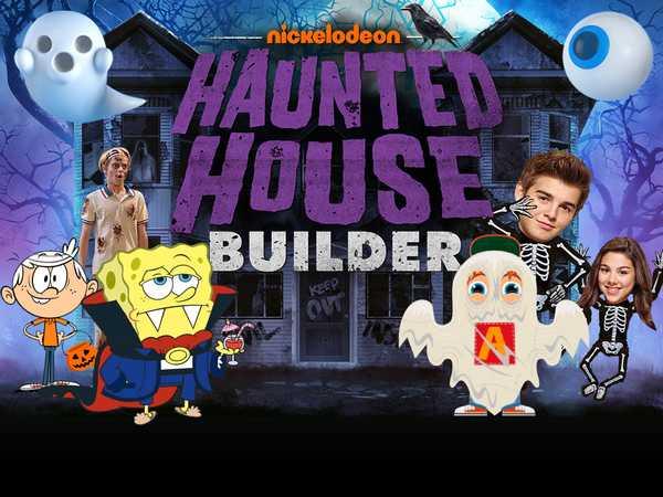 Nickelodeon Haunted House Builder Game