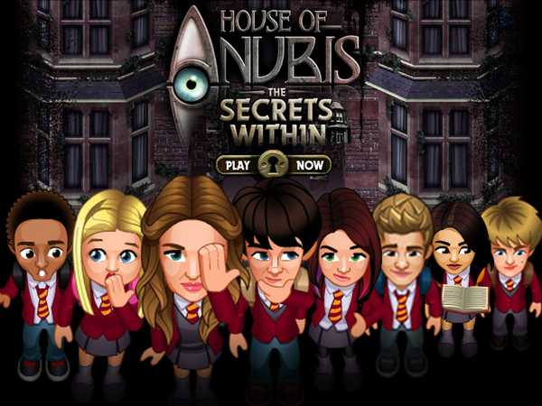 Promo type 1: House of Anubis: The Secrets Within GAME