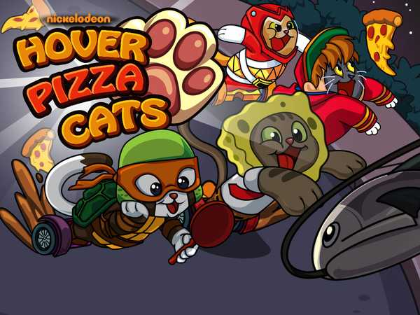 Nickelodeon: Hover Pizza Cats