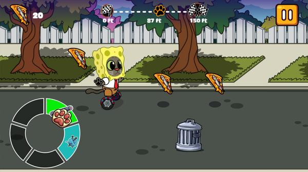 Hover Pizza Cats Screenshot Picture