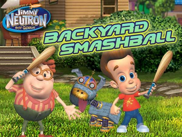 Jimmy Neutron: Backyard Smashball