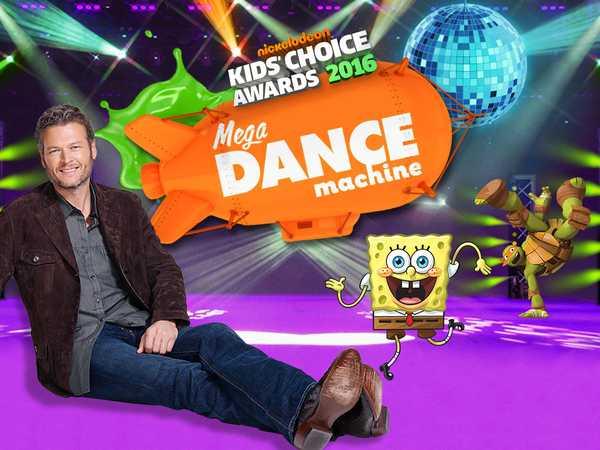Kids' Choice Awards 2016: Mega Dance Machine