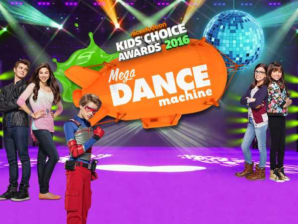 Promo type 1: KCA 2016 Mega Dance Machine - Henry Danger, Thundermans, Game Shakers
