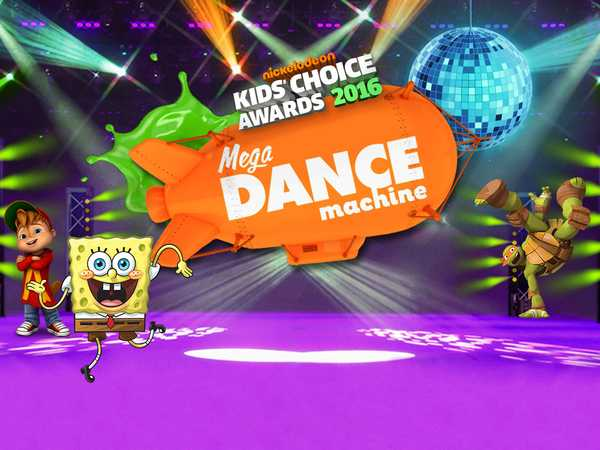 Kids Choice Awards 2016: Mega Dance Machine