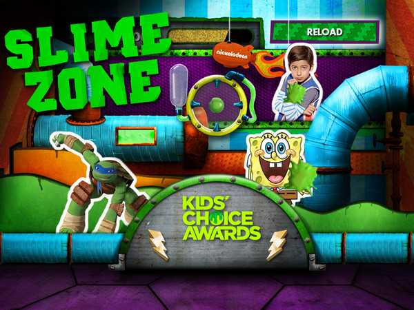 Kids Choice Awards 2015: Slime Zone