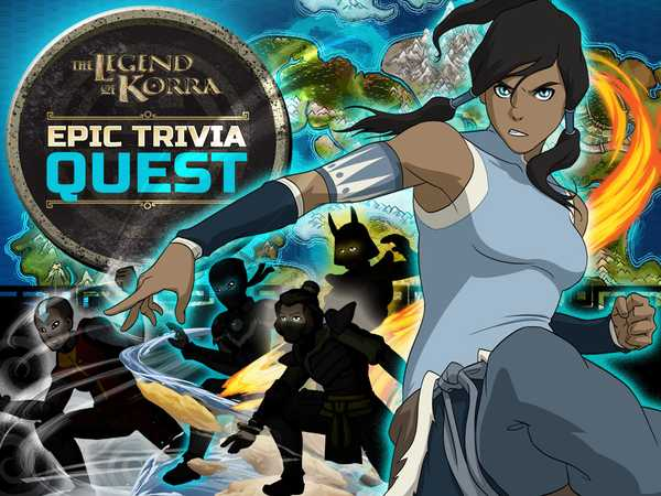 Promo type 1: Legend of Korra: Epic Trivia Quest