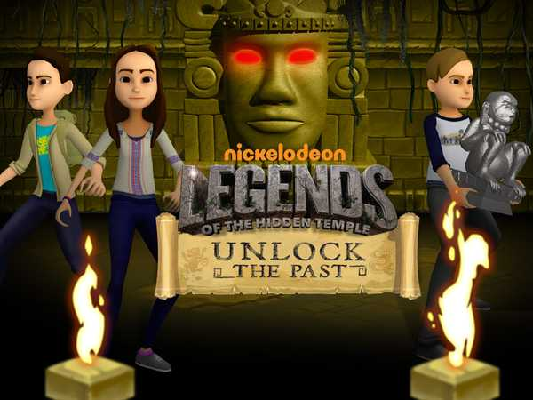 Legends of the Hidden Temple: Unlock the Past