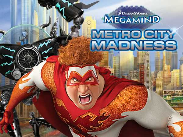 MegaMind: Metro City Madness (AD)