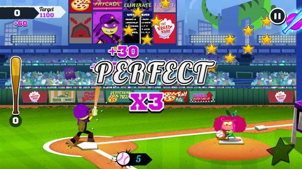 Nickelodeon Baseball Stars Screenshot Picture