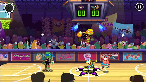Nickelodeon Basketball Stars Screenshot Picture
