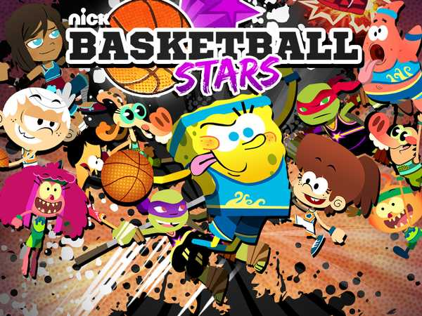 Nickelodeon Basketball Stars Sports Game