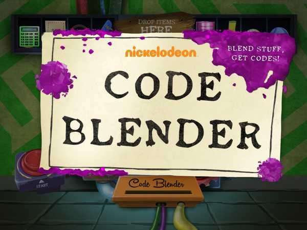 Nickelodeon: Code Blender