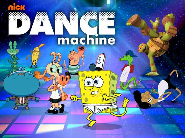 Promo type 1: Nickelodeon: Dance Machine HALLOWEEN